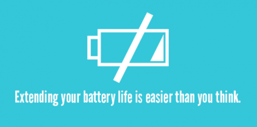 Extending your battery life is easier than you think.
